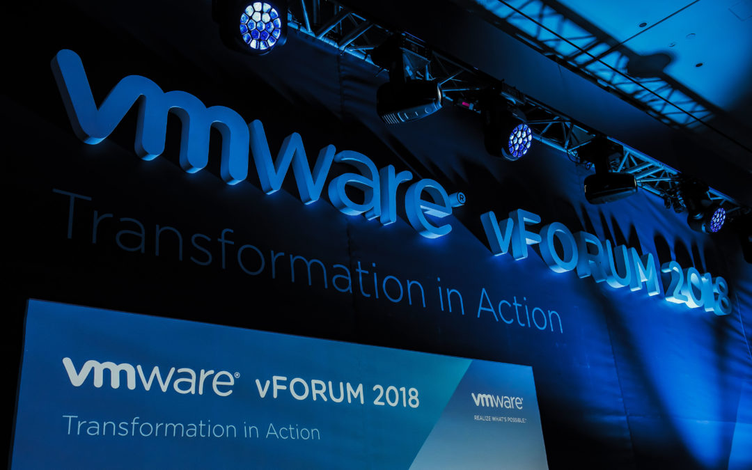 VMware vFORUM, 2018